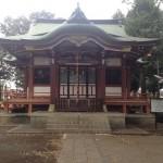 本多一帯を見守る神社
