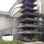 武蔵国分寺七重の塔の模型