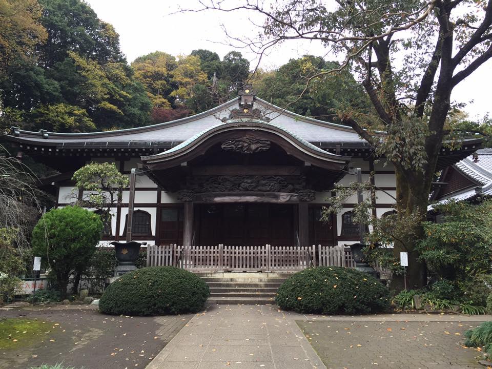 歴史感じる武蔵国分寺
