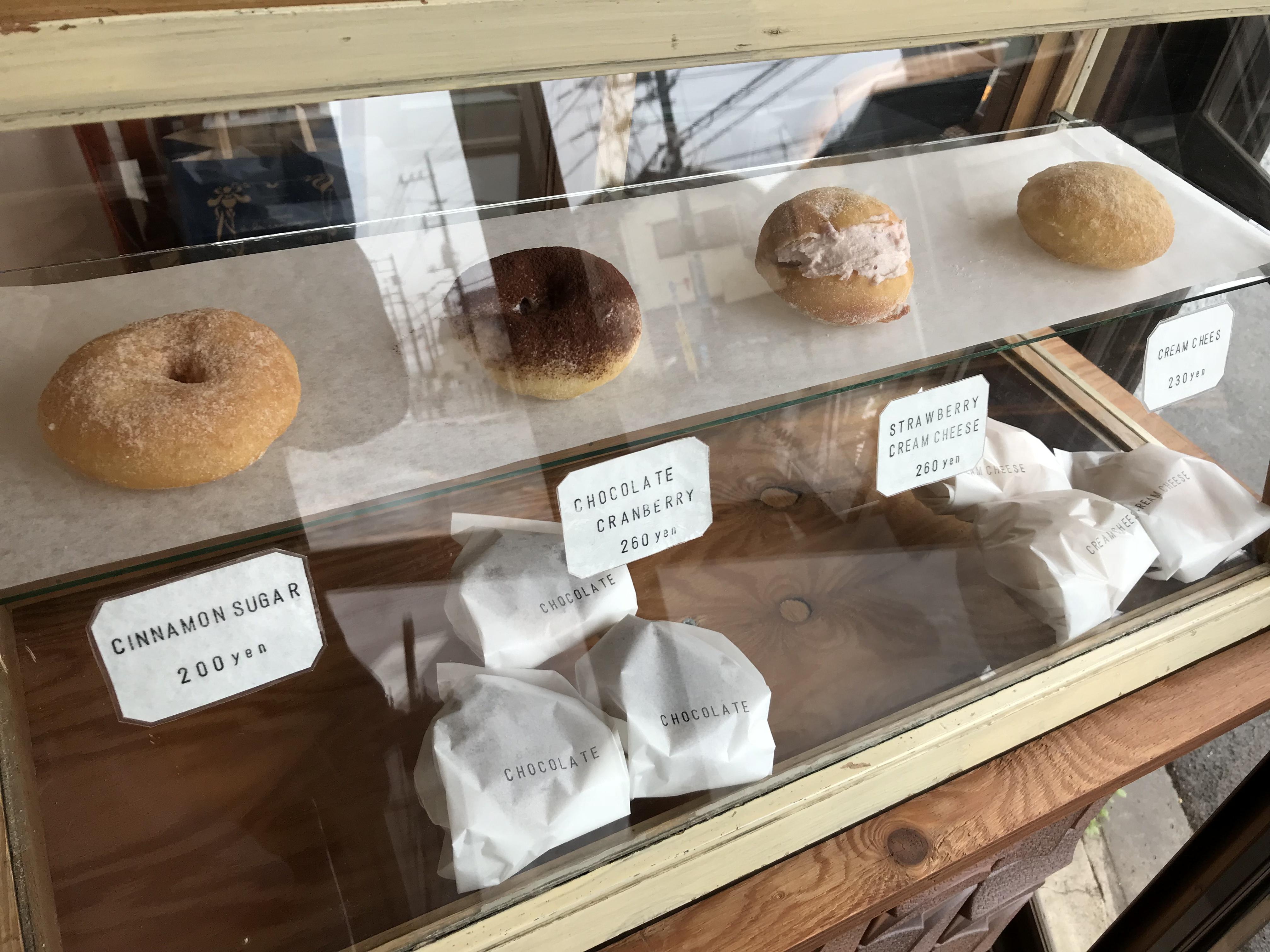手作りドーナツのお店