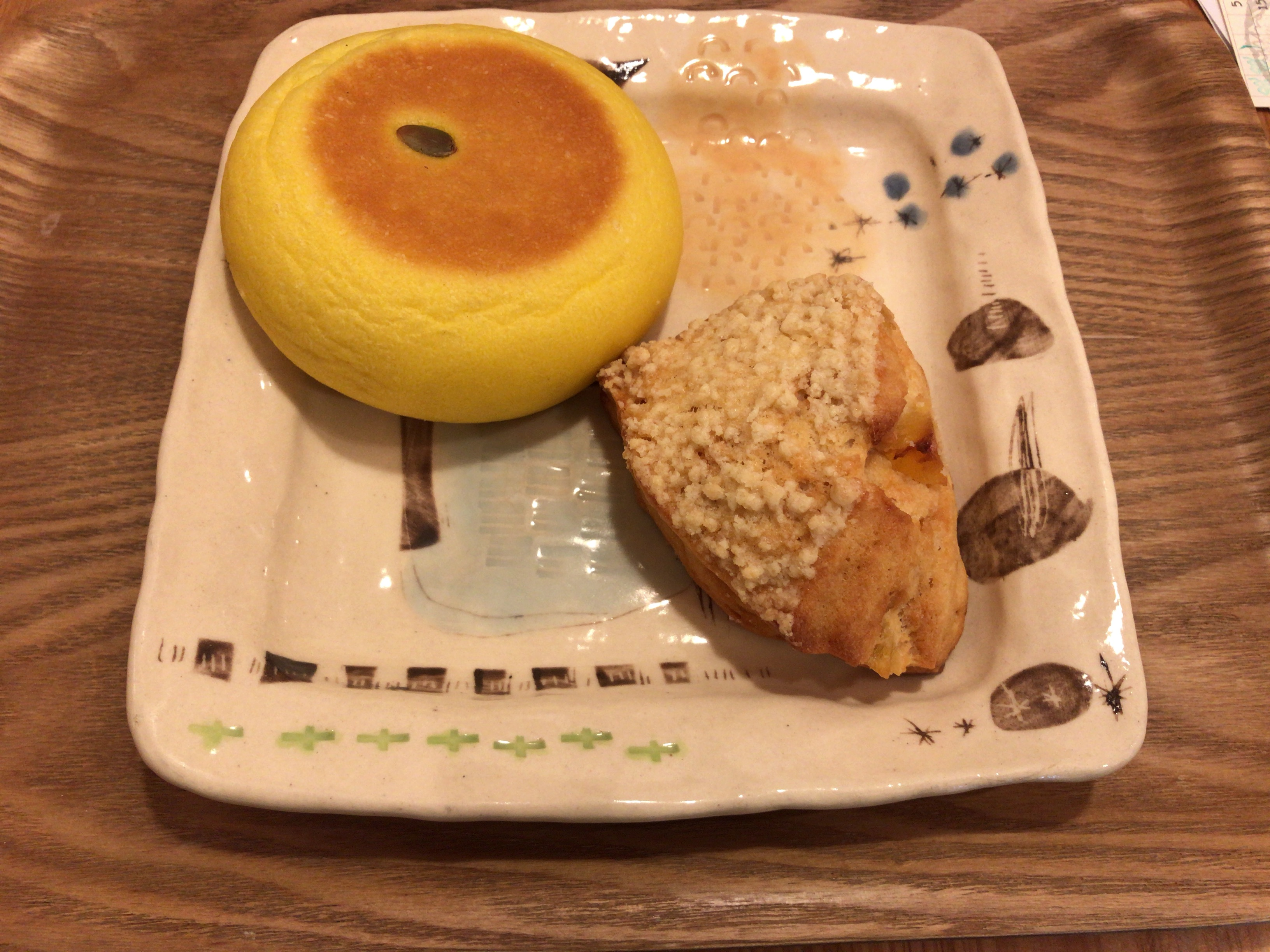 季節の味が楽しめるパン屋