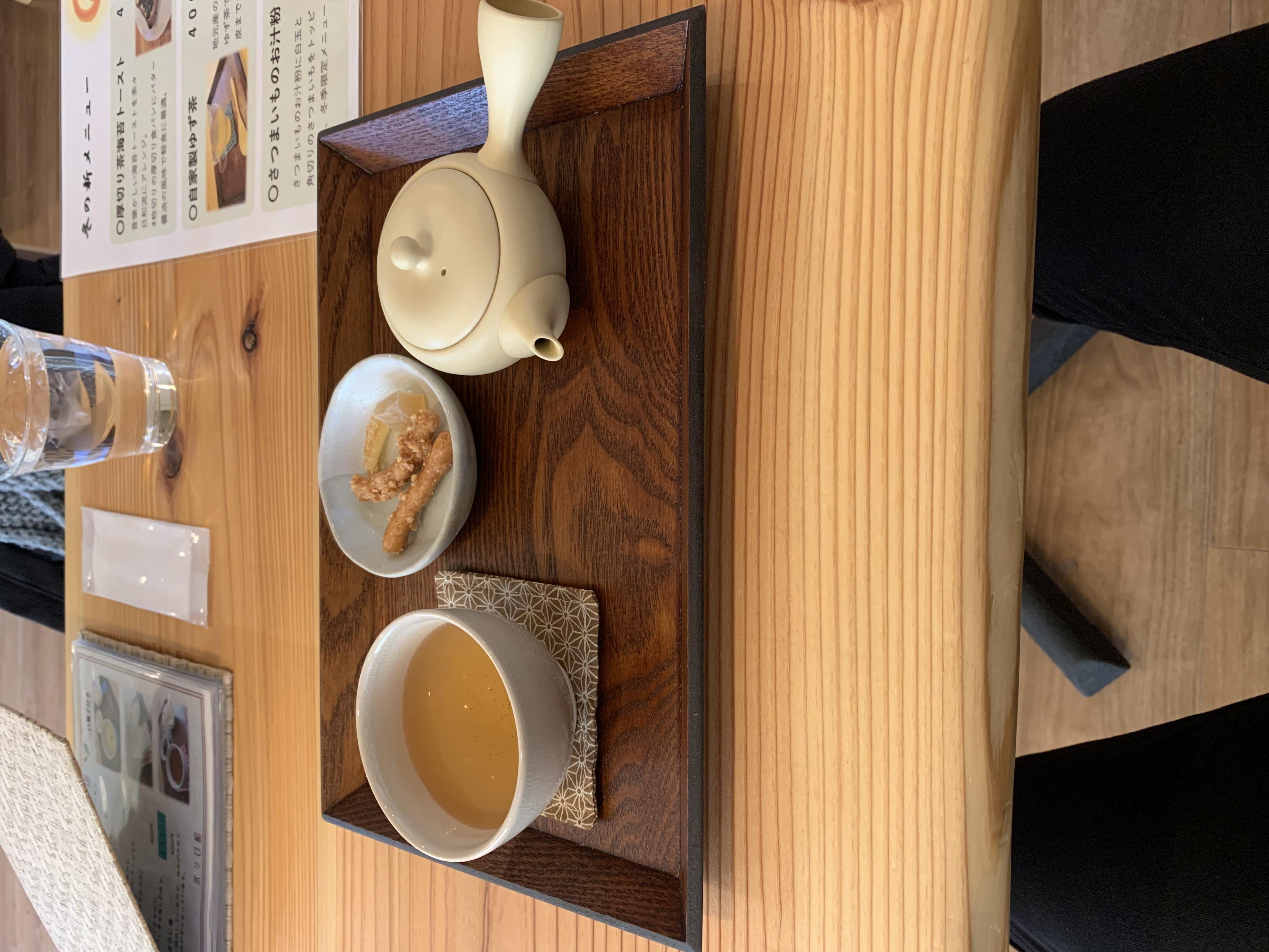 こだわりの日本茶でゆったりとした時間を